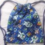 小学校の体操着袋こそ手作りで~超簡単な作り方