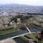 函館五稜郭公園の桜の見どころ~夜桜・タワーの眺望抜群!