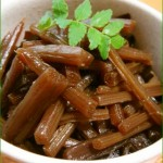 人気のふきレシピ~簡単にできる煮物と佃煮
