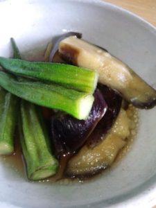 オクラナス料理