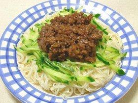 肉味噌素麺